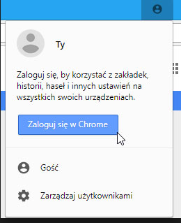 google synchronizacja